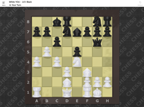Screen shot of Chess Cake Piece (Chess Game for Universal Windows Platform)